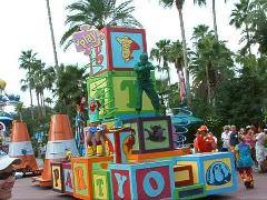 Toy Story Parade at MGM.